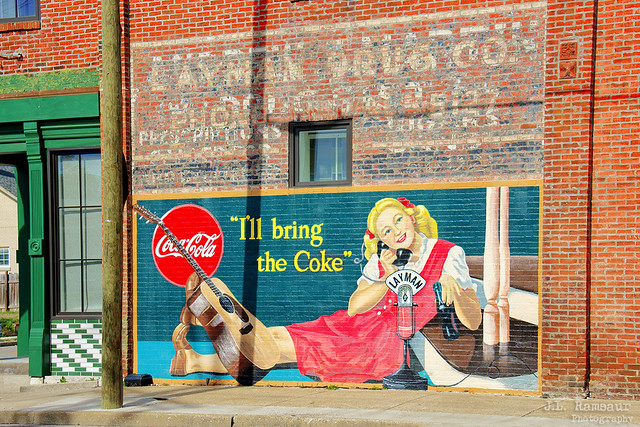 Coke mural - Layman Drug Company - Nashville, Tennessee