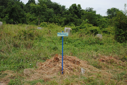 William Barber gravesite sign