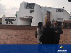 El Museo de Arte Contemporáneo recibe la visita de la directora del Museo Diocesano de España