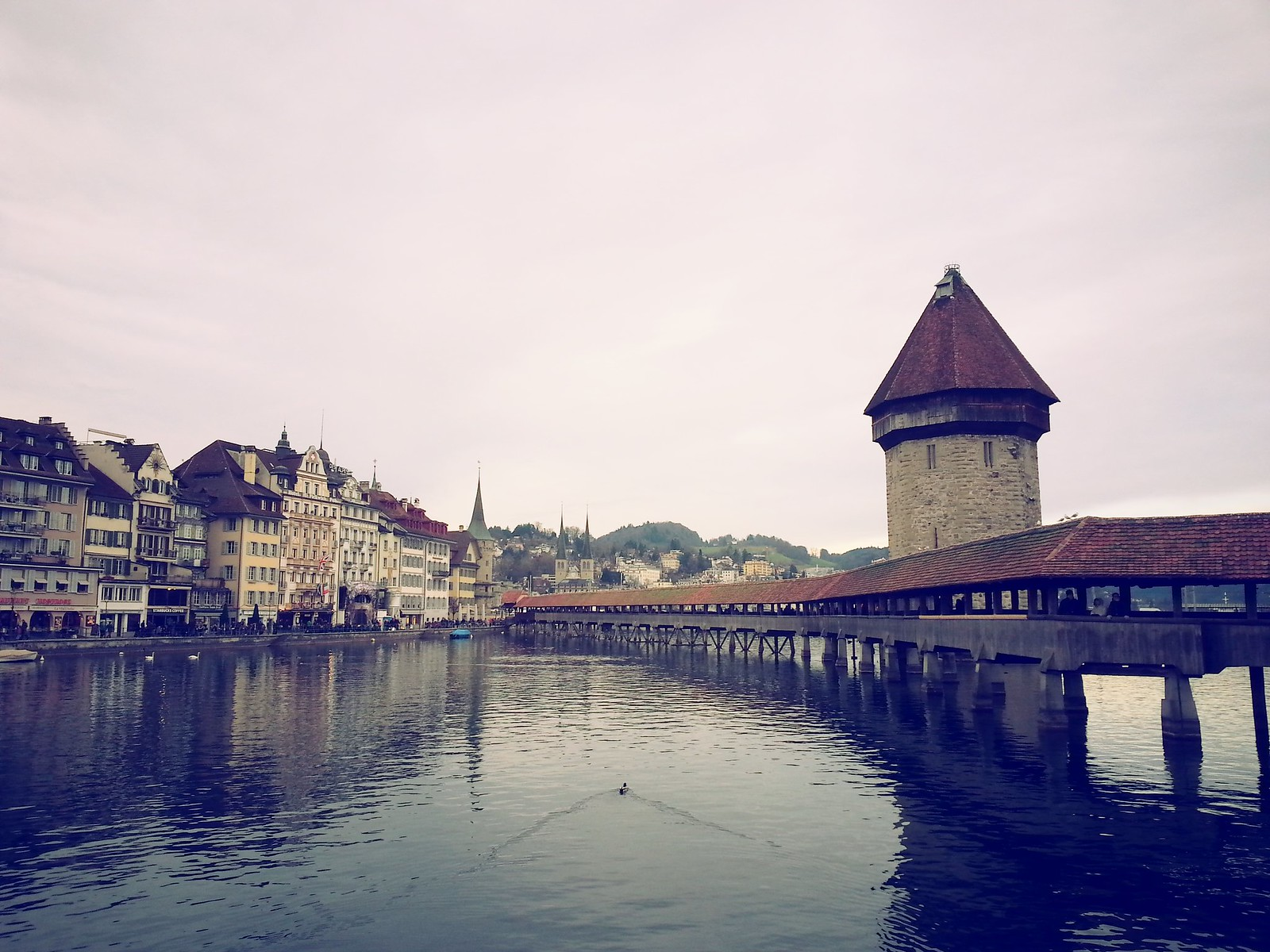 16-01-30 (Lucerne) Chapel Bridge.