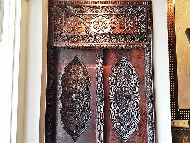 Carved Door, Zanzibar Design