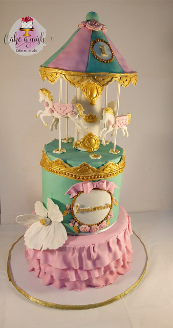 Unicorn Cake by Omnia Salah of Cake A Wish - Sydney
