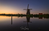 The calm of Kinderdijk