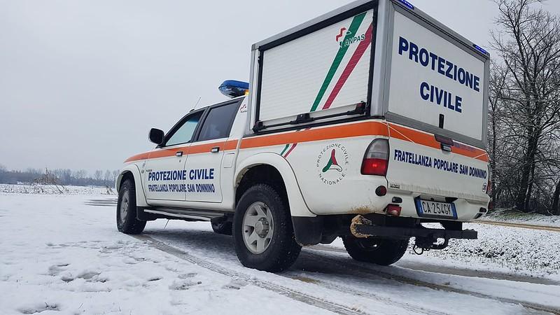 Interventi Anpas Toscana Neve