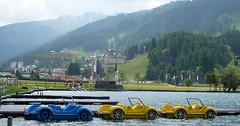 Okolo jezera v Davosu