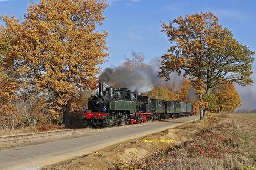 Mallet 020-020 Tigerli 030 et La Meuse 030 en pousse Train de la Mémoire à Sentheim