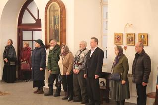 05.01.2018 | Божественная литургия в Юрьевом монастыре