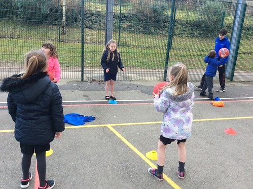 Yr 1 Multi skills with Discovery College YMCA Post 16