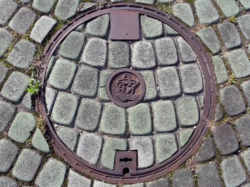 Ikoma Nara, manhole cover 8 (奈良県生駒市のマンホール8)