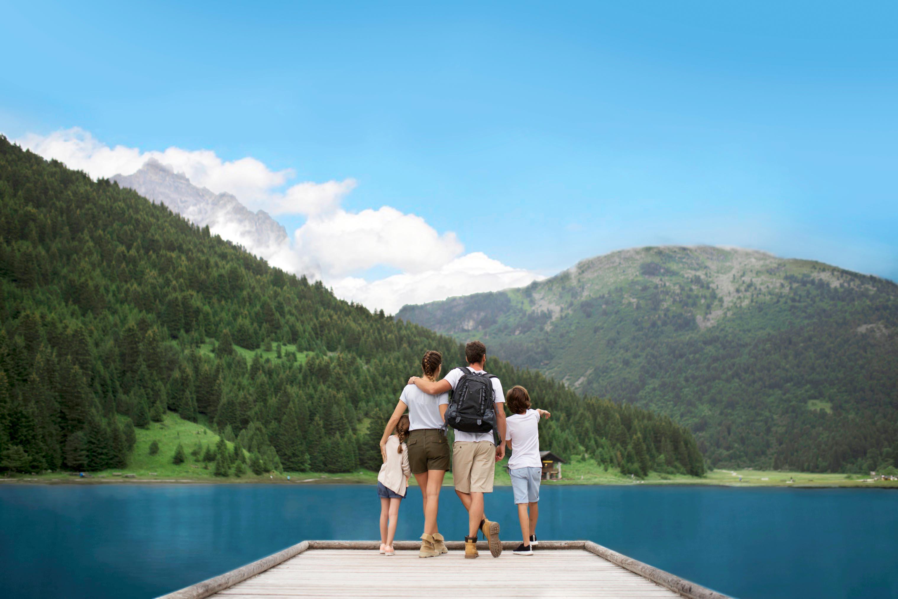 Отдых летом в Альпах