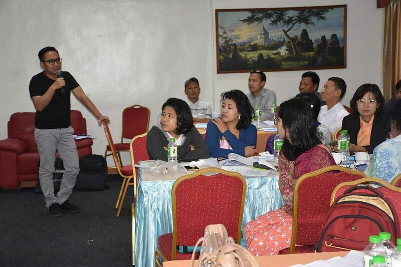 Public Policy Workshop facilitated by U Khine Win at Orchid Hotel