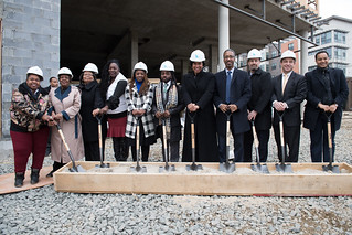 January 3, 2019 Mayor Muriel Bowser Breaks Ground on Good Foods Market