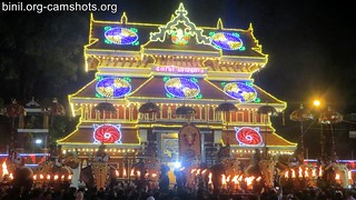 Paramekkavu Bhagavathy Temple Vela on 4th Jan 2018