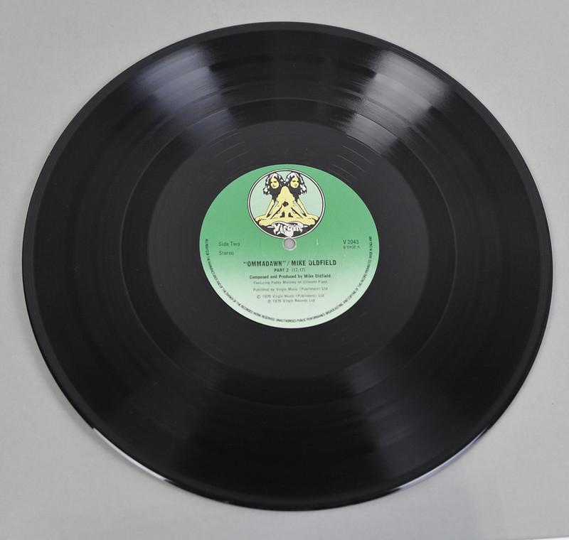 "MIKE OLDFIELD OMMADAWN ORIGINAL TWIN ENGLAND 12"" LP VINYL"