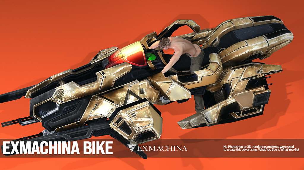 EXMACHINA GROUP GIFT: SCIFIBIKE
