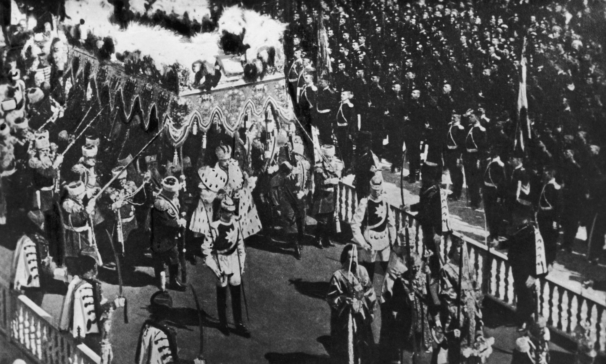 Коронационное шествие императора Николая II по улицам Москвы (2)