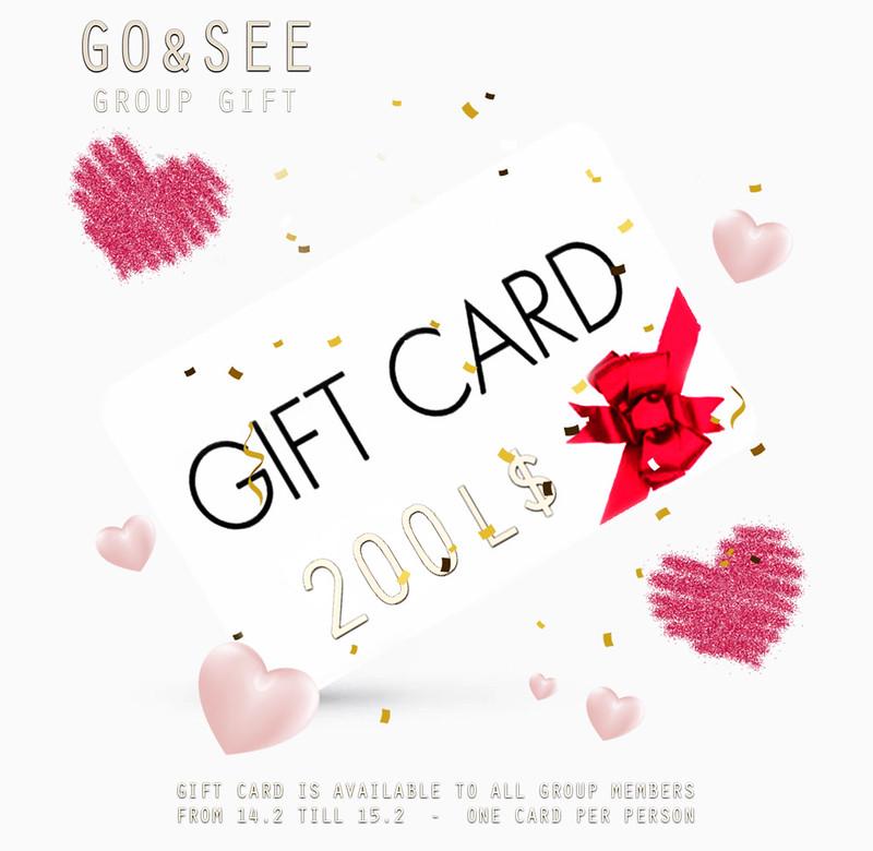 Valentine ♥ Gift Card