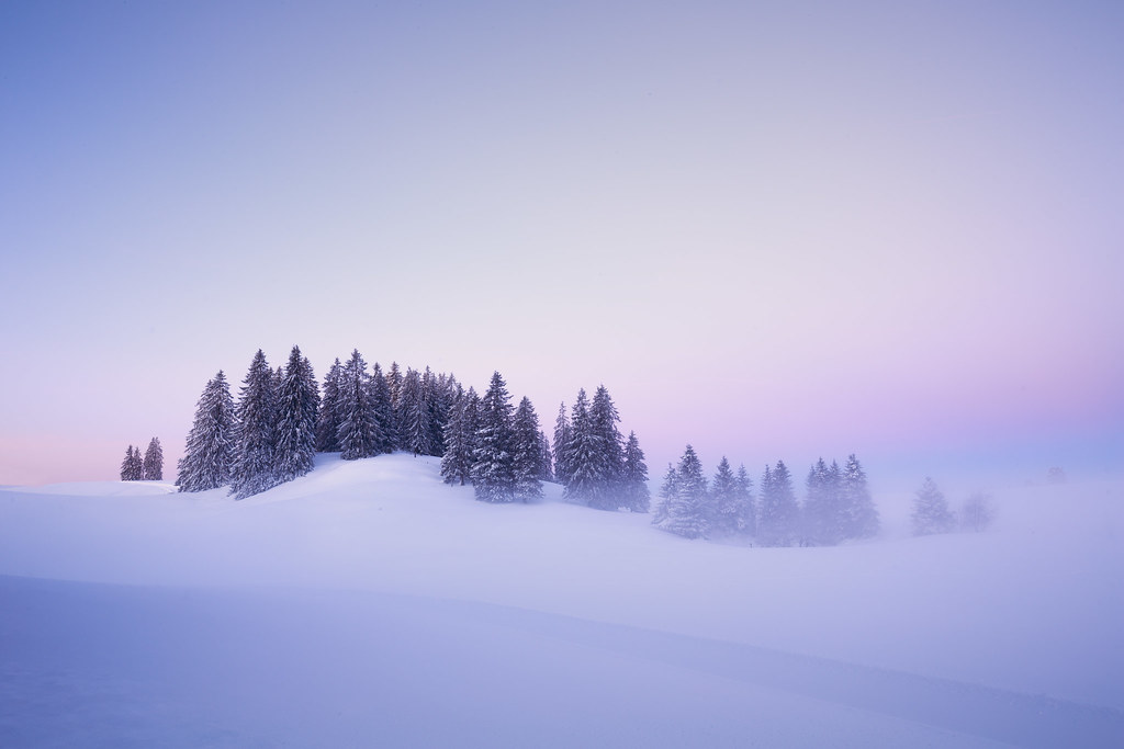 Wintery Wave - Tête-de-Ran - Switzerland