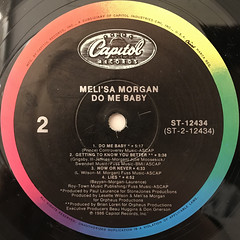 MELI'SA MORGAN:DO ME BABY(LABEL SIDE-B)