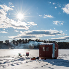 warming up the shack