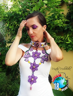 The Battle of the beadsmith 2018 Martha Mollichella from Italy italian saffron zafferano italiano