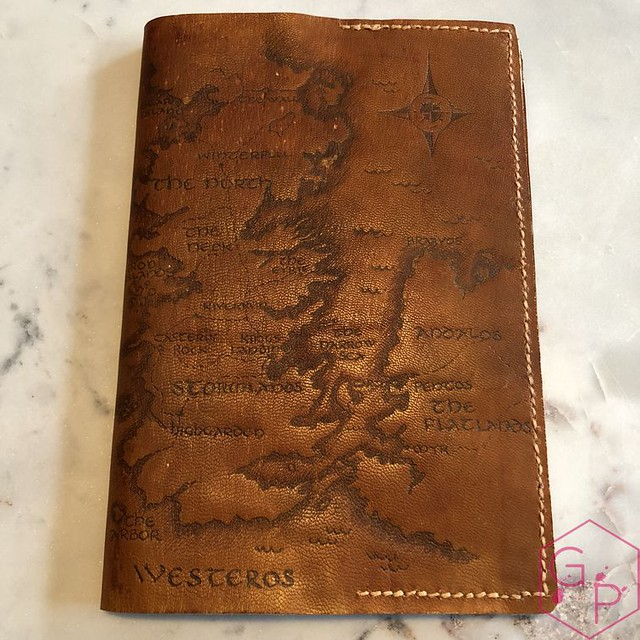 Toronto Pen Company Traveler's Notebook Leather Covers with Pyrography & Paintings 13