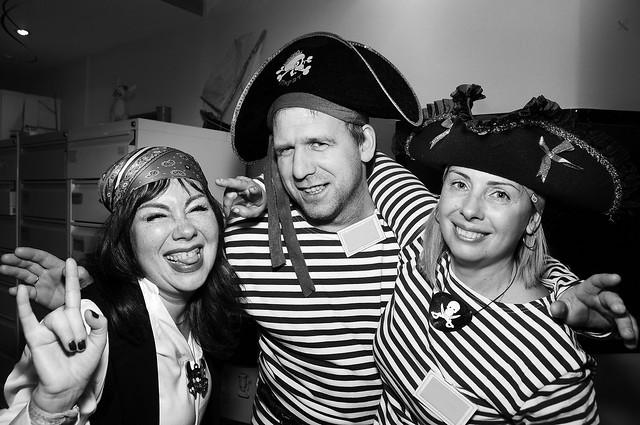 Пиратская вечеринка. декабрь 2018