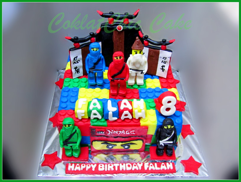 Cake Ninjago FALAH 20 cm