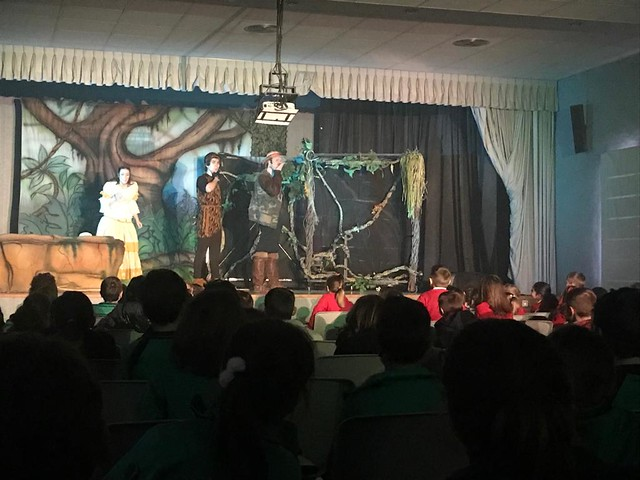 Teatro en inglés: Tarzán
