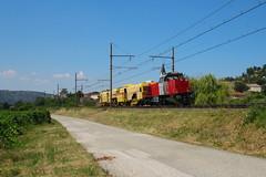 BB 61020+Bourreuse B50D n°62855 Vichy - Avignon Fontcouverte