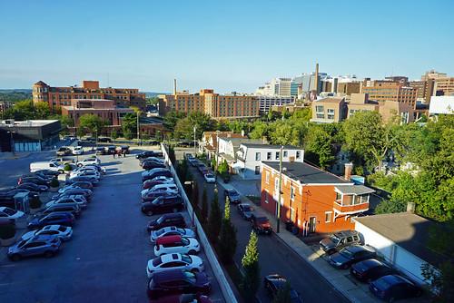 View from Hampton Inn & Suites Cincinnati Uptown University, OH