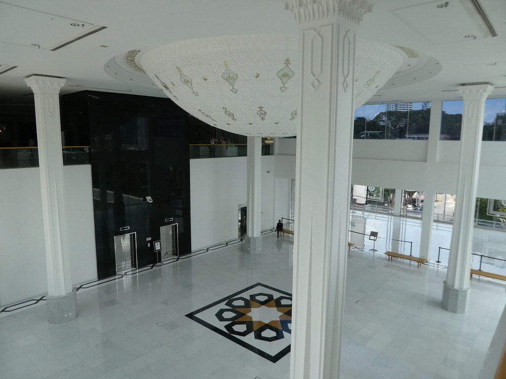 Entrance lobby of the Museum of Islamic Arts, Kuala Lumpur