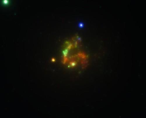 Grand Stellar Nursery NGC 604 from Chandra