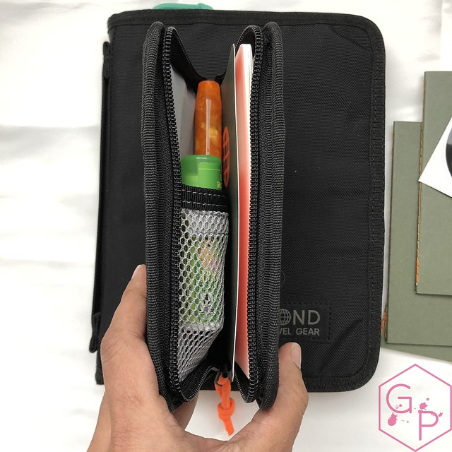 Bond Travel Gear Wallet & Field Journal & Tomoe River Notebooks Review 15