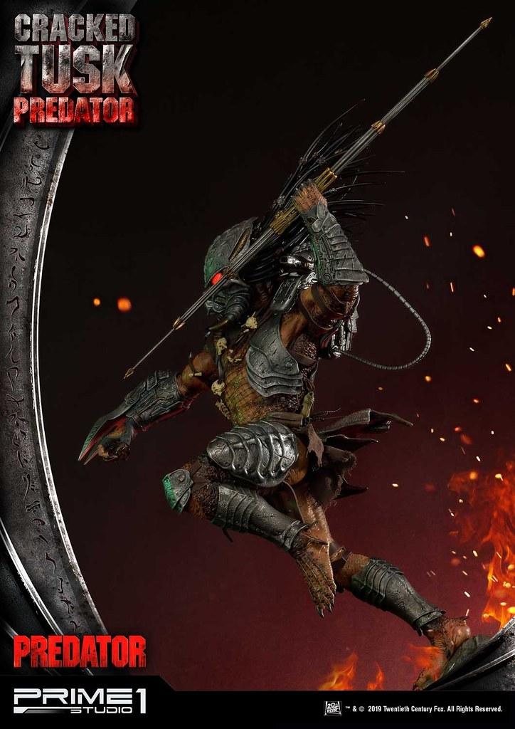 極具魄力的狩獵姿態!! Prime 1 Studio【破碎獠牙終極戰士】クラックドタスク プレデター / Cracked Tusk Predator PMDHPR-01 1/4 比例全身雕像作品 普通版/EX版