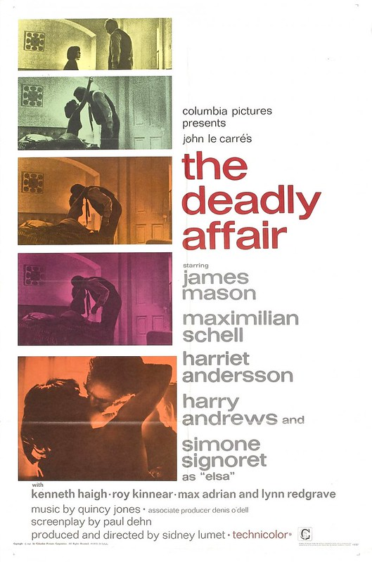 The Deadly Affair - Poster 1