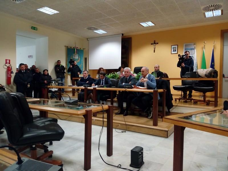 riunione frana lauria 13 febbraio