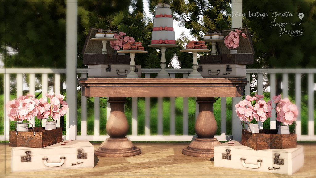 {YD} Wedding Vintage Floratta - TeleportHub.com Live!