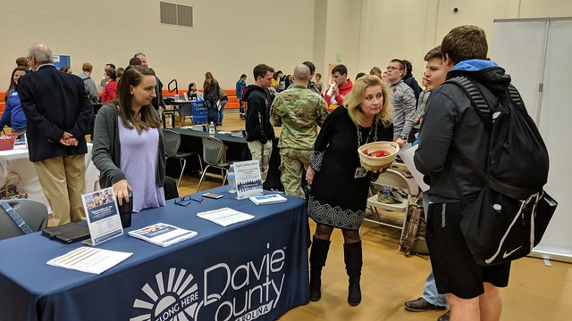 Local Businesses Reach 500 Students at Davie Career Expo!