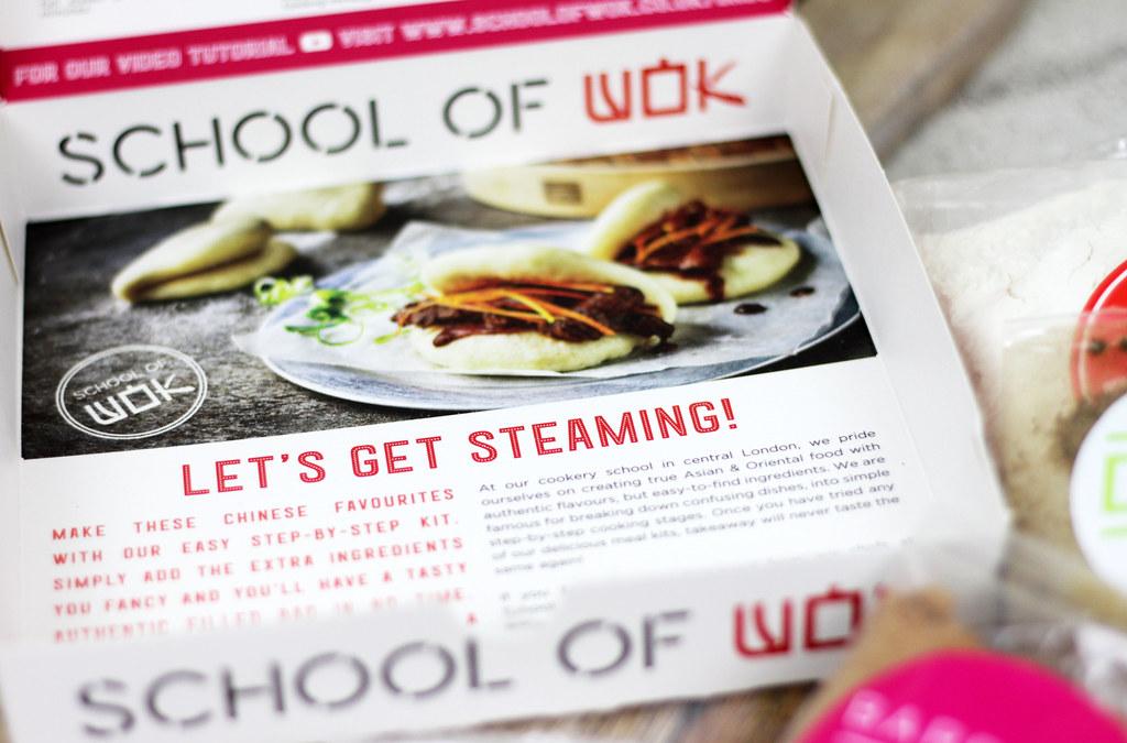 School of Wok - Bao Buns Kit