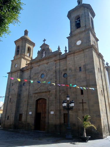 Parroquia San Sebastian de AGÜIMES, Gran Canaria (Spain)