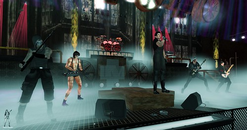Rammstein Tribute 3-15-2019 Live @ House of V by Thunder Rock Concerts in Second life
