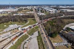 BNSF 7840 | GE ES44DC | BNSF Tennessee Yard