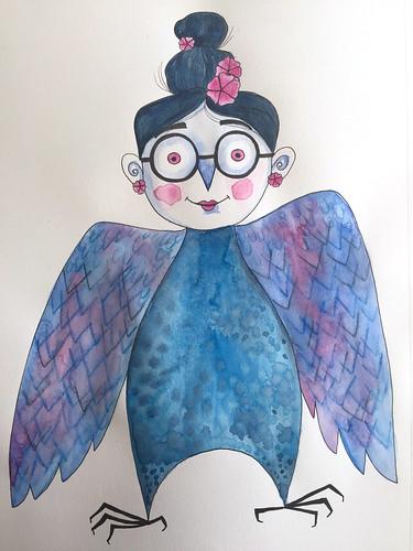 12 - Self-Portrait as Bird