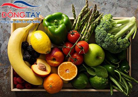 Ăn nhiều rau xanh và trái cây tốt cho tim mạch