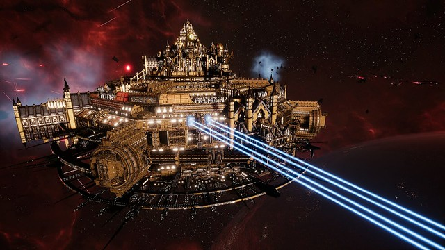 Battlefleet Gothica 2  - 宇宙大聖堂のレーザー火災