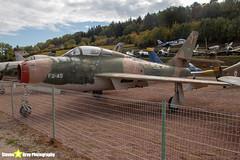FU-45---52-7210---Belgian-Air-Force---Republic-F-84F-Thunderstreak---Savigny-les-Beaune---181011---Steven-Gray---IMG_5809-watermarked