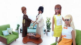 """""""East meets West"""" Anouk dolls"""