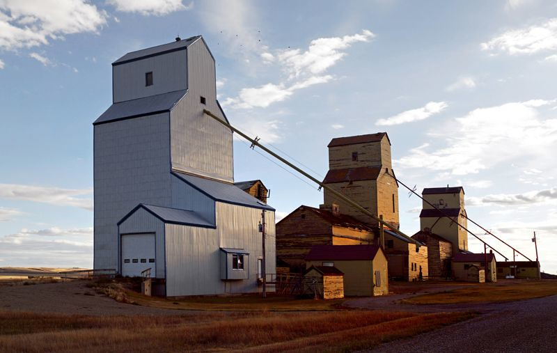 Tin Star grain elevator
