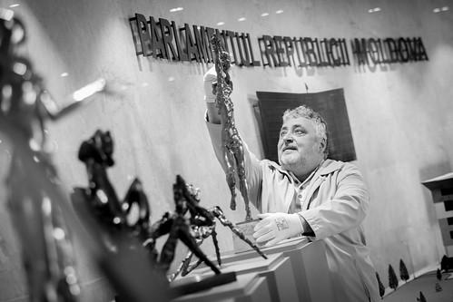 19.03.2019 Expoziția de sculptură a maestrului Serghei Ganenco